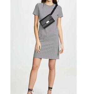 Theory Pinstripes T-Shirt dress